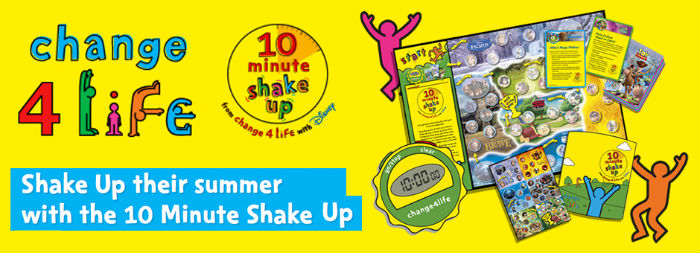 Active kids are happy kids! They like to move and have fun. 10 Minute Shake Ups are the perfect way to help them get their recommended daily 60 minutes of physical activity