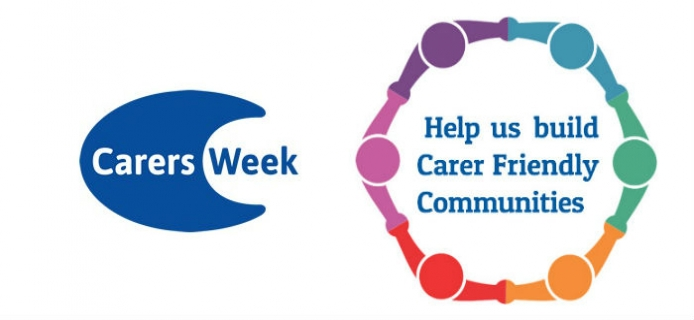 Carers' Week 8-14 June 2015 logo