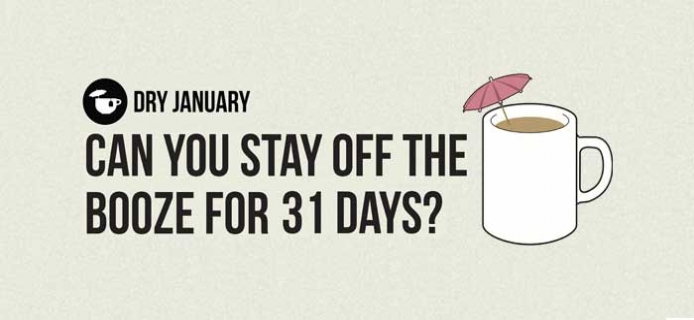 Dry January is back to give us all a break from the booze!